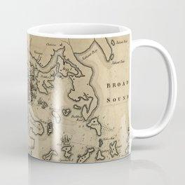 Vintage Boston Revolutionary War Map (1775) Coffee Mug