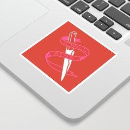 stab Sticker