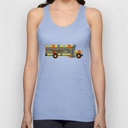 Autism Awareness School Bus Unisex Tank Top