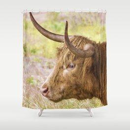 Longhorn 2 Shower Curtain