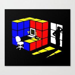 Rubix Cubicle Canvas Print