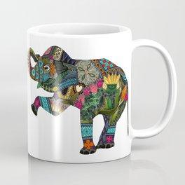 asian elephant white Coffee Mug