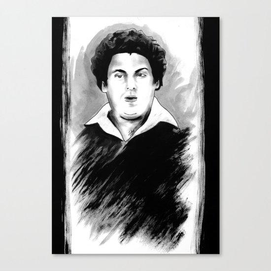 DARK COMEDIANS: Jonah Hill Canvas Print