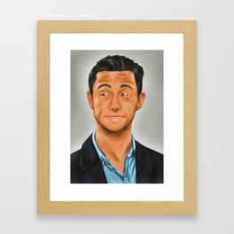 Joseph Gordon-Levitt Framed Art Print
