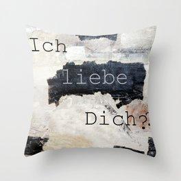 i love you ??? Throw Pillow
