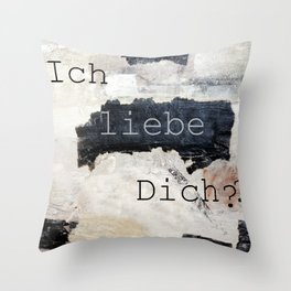 i love you ??? Throw Pillow