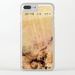Join or Die Clear iPhone Case