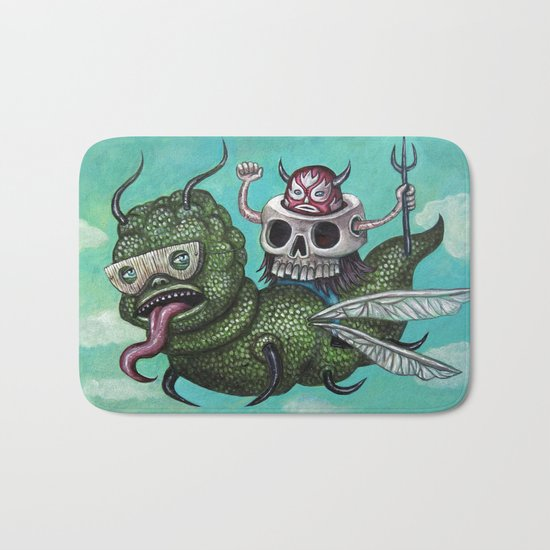 Ride of the Valkyrie Bath Mat