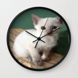 Am I Adorable? Or What? Wall Clock