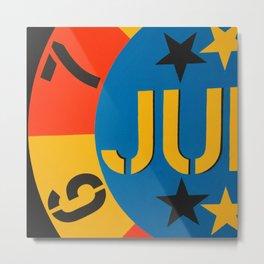 6 7 JU Metal Print
