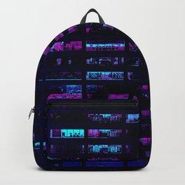 Cyberpunk Apartments Backpack