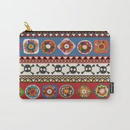Aztec background Carry-All Pouch