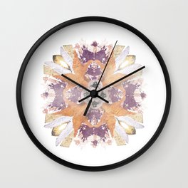 Kaleidoscope I Wall Clock