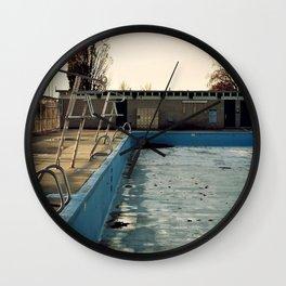 Piscine Jarry Wall Clock