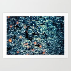 Bubblin Art Print