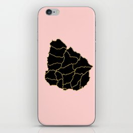 Uruguay map iPhone Skin