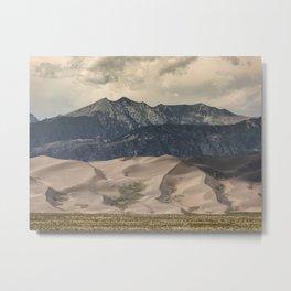 Great Sand Dunes National Park - Rocky Mountains Colorado Metal Print