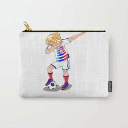 USA Soccer Player Dab Carry-All Pouch