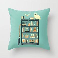 Potter Shelf | Rowling Throw Pillow