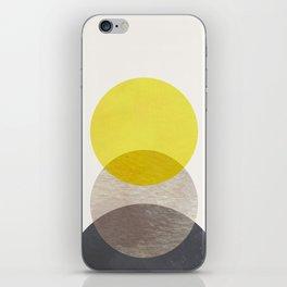 SUN MOON EARTH iPhone Skin