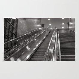 Underground station - stairs - Brandenburg Gate - Berlin Rug
