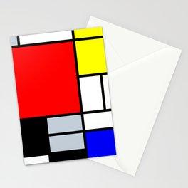 Mondrian Stationery Cards