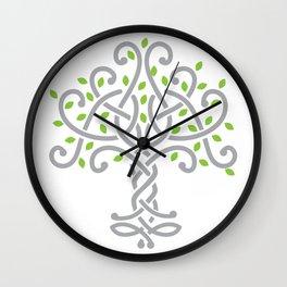 Knot tree Wall Clock