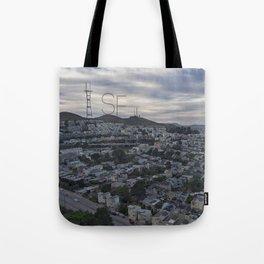 San Francisco - Sutro Tower Chill Tote Bag