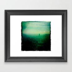 Le Naked City Framed Art Print