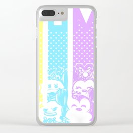 Tsum Clear iPhone Case