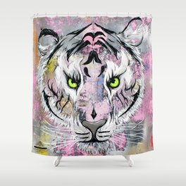 """Tiger Tiger"" Shower Curtain"