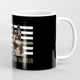 Military Working Dog Handler Coffee Mug