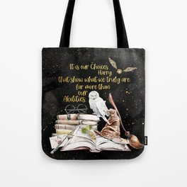 Our Choices - Golden Dust Tote Bag