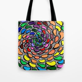 The Jelly Bean Explosion Tote Bag