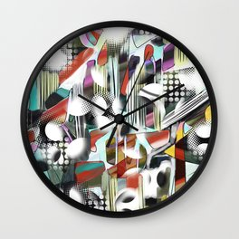 Vagueness Wall Clock