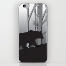 Walking Bear iPhone & iPod Skin