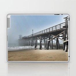 Foggy Beach Laptop & iPad Skin