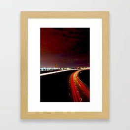 All the Way Home Framed Art Print