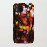 bokeh iPhone & iPod Cases featuring Bokeh by KitKatDesigns