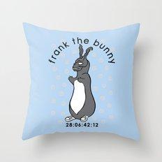 Don't Pat the Bunny Throw Pillow
