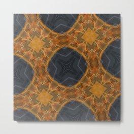 4 Squares Metal Print