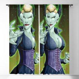 Evil Dragon Faerie Blackout Curtain