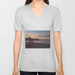 Front Beach After Hours Unisex V-Neck