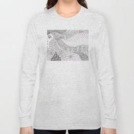 Hair Doodle Long Sleeve T-shirt