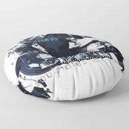 Patti Smith and Robert Mapplethorpe Floor Pillow