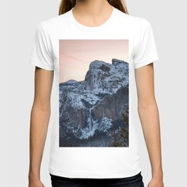 Yosemite Bridal Veil Falls Sunrise T-shirt