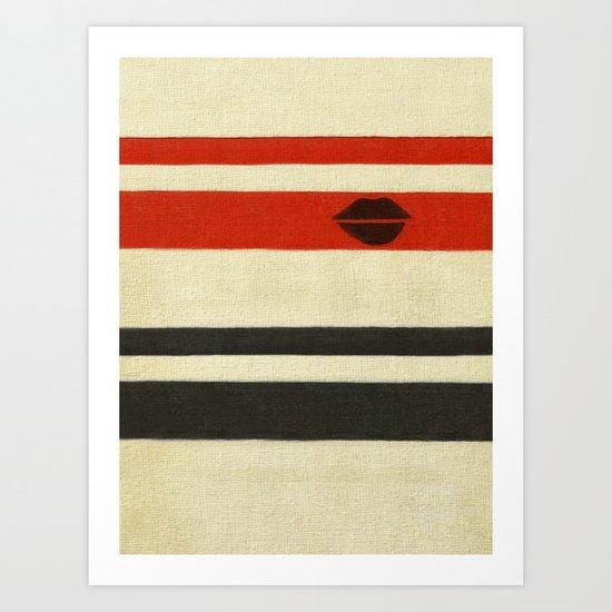 The Lady Vanishes Art Print