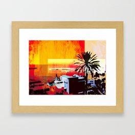 _vista sul mare Framed Art Print