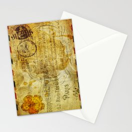 Postcard Lettre 5 Stationery Cards