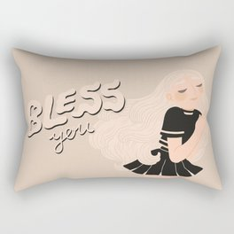 Bless you! Rectangular Pillow